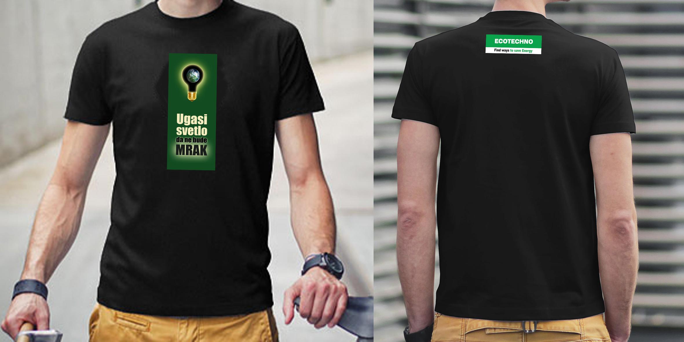 T-Shirt ECOTECHNO Men's