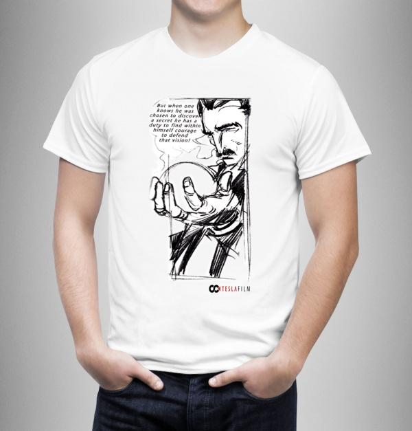 Men's T-Shirt Tesla - tajna