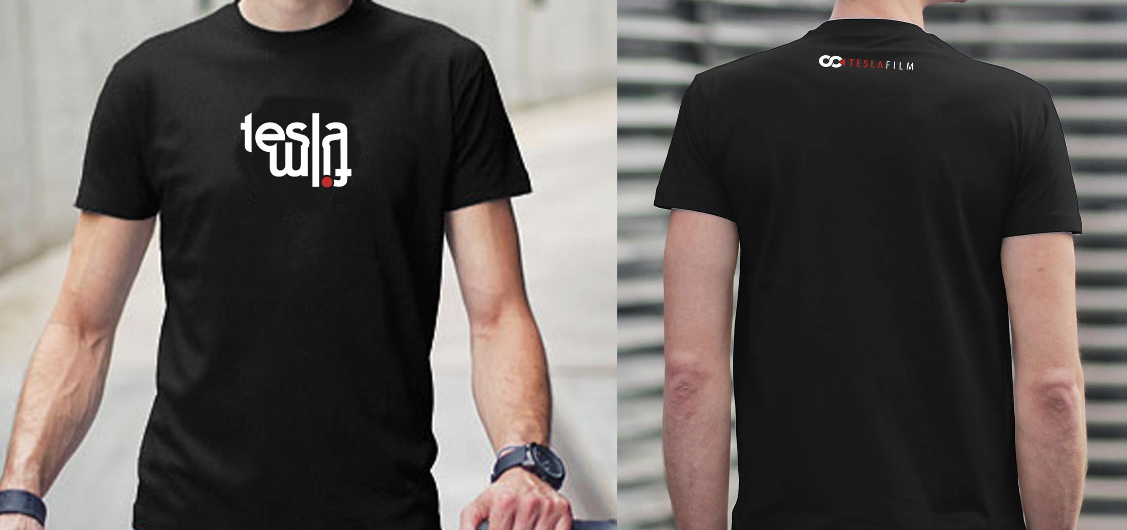 T-Shirt TESLAFILM ART