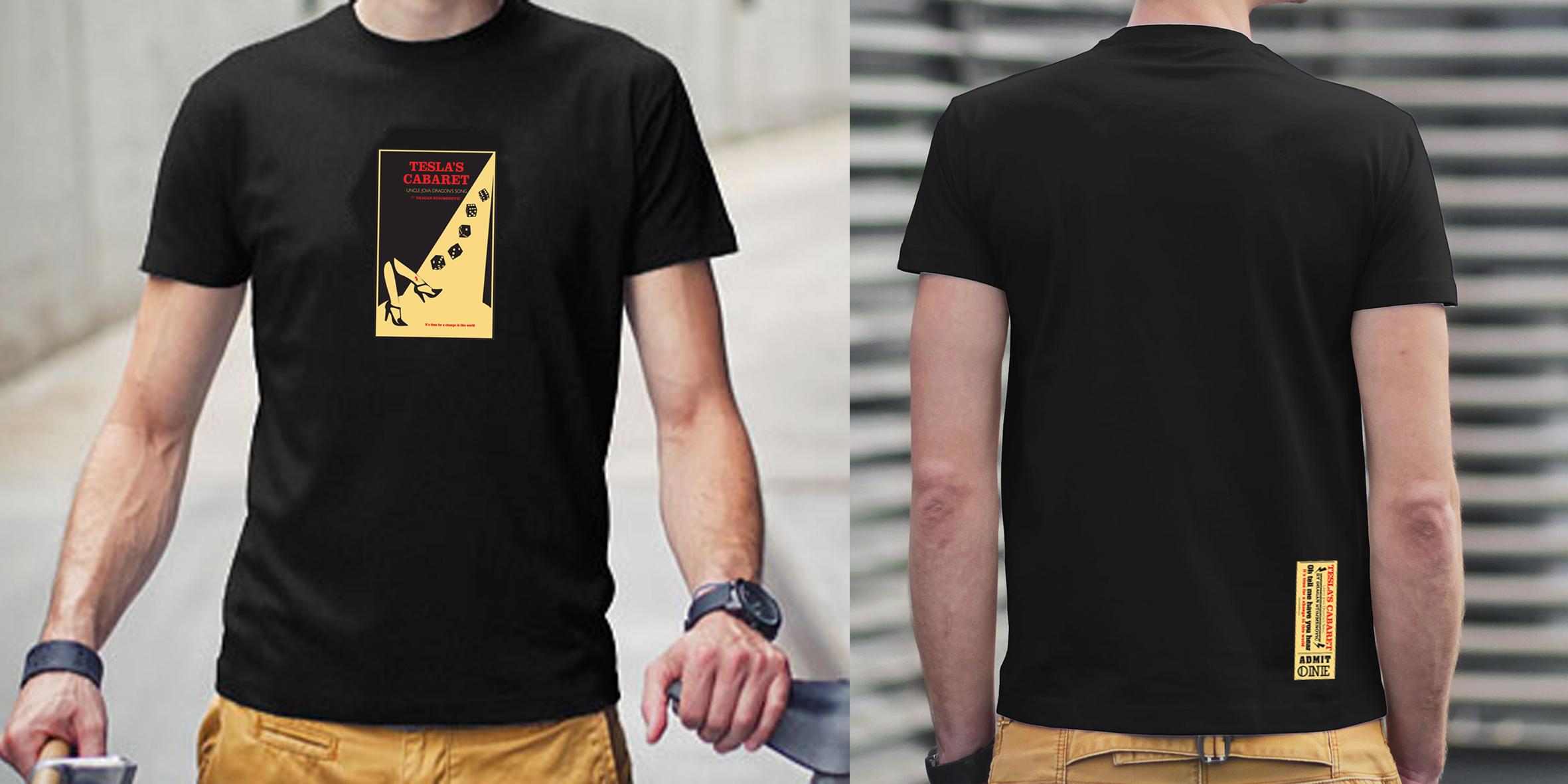 T-Shirt TESLIN KABARE